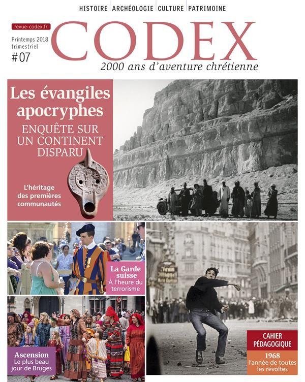 CODEX 07 LES EVANGILES APOCRYPHES