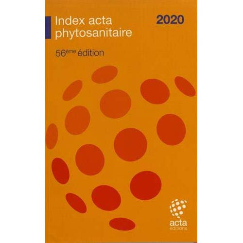 INDEX PHYTOSANITAIRE ACTA 2020