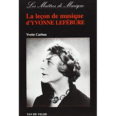 LEFEBURE LECON DE MUSIQUE D'YVONNE