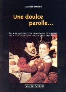 BARBIER JACQUES UNE DOULCE PAROLLE