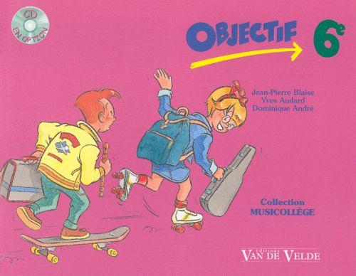 OBJECTIF 6EME PLUS CD