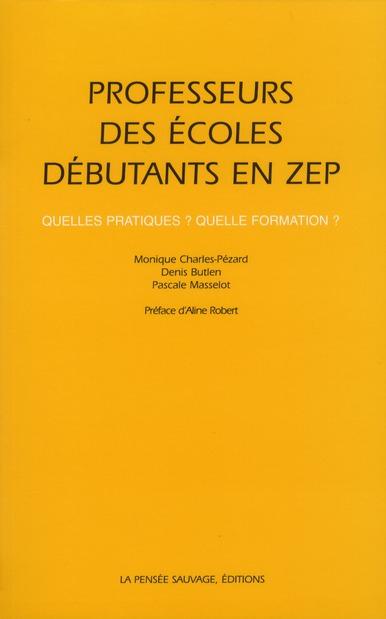 PROFESSEURS DES ECOLES DEBUTANTS EN ZEP