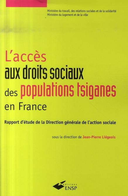 L ACCES AUX DROITS SOCIAUX DES POPULATIONS TSIGANES EN FRANCE