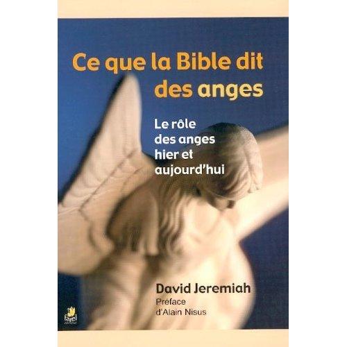 CE QUE LA BIBLE DIT DES ANGES