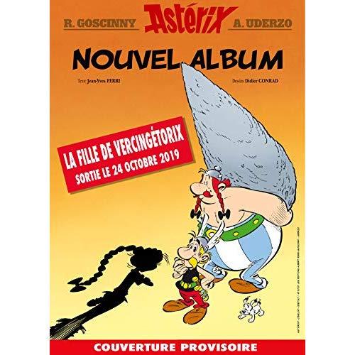 ASTERIX 38 LA FILLE DE VERCINGETORIX - ARTBOOK