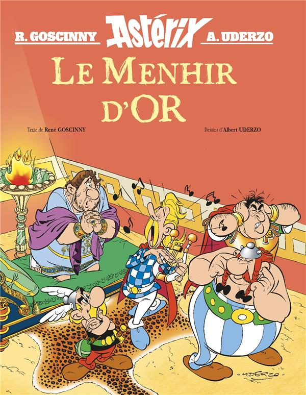 ASTERIX LE MENHIR D'OR - HORS COLLECTION - ALBUM ILLUSTRE