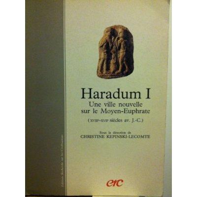 HARADUM I - UNE VILLE NOUVELLE SUR LE MOYEN-EUPHRATE