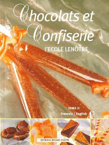 CHOCOLATS ET CONFISERIE DE L'ECOLE LENOTRE T2 FR ANG