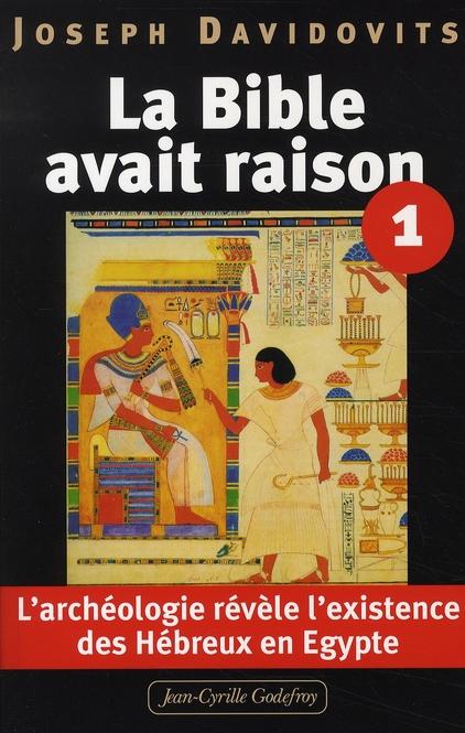 BIBLE AVAIT RAISON T1