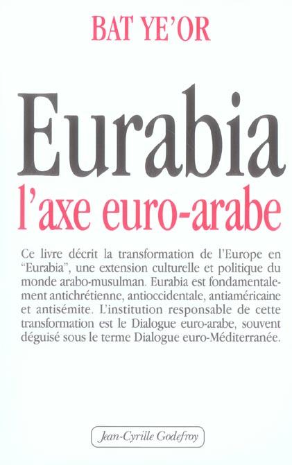 EURABIA L'AXE EURO ARABE