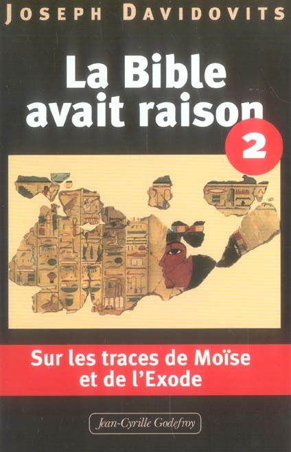 BIBLE AVAIT RAISON T2