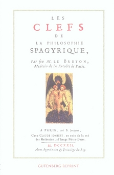 CLEFS DE LA PHILOSOPHIE SPAGYRIQUE (LES)