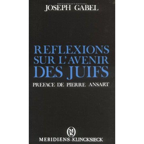 REFLEXIONS SUR L'AVENIR DES JUIFS