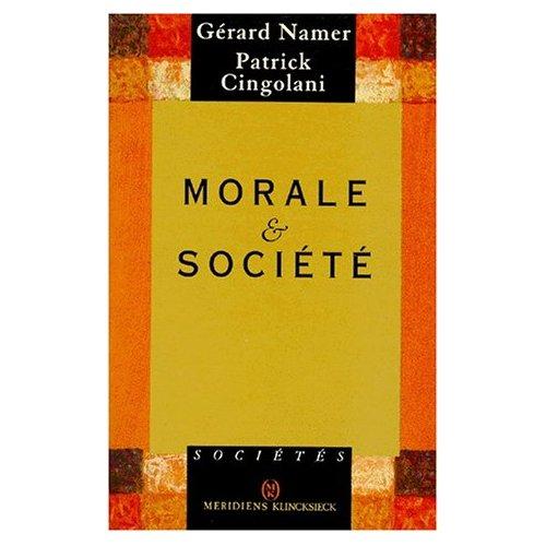 MORALE & SOCIETE.