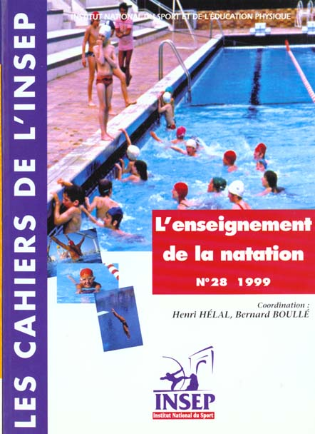 CAHIER INSEP 28 ENSEIGNEMENT NATATION