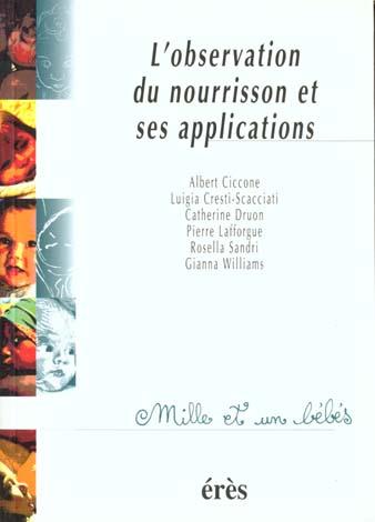 1001 BB 011 - L'OBSERVATION DU NOURRISSON ET SES APPLICATIONS
