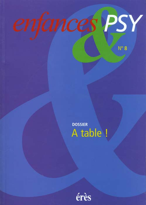 ENFANCES & PSY 008 - A TABLE !