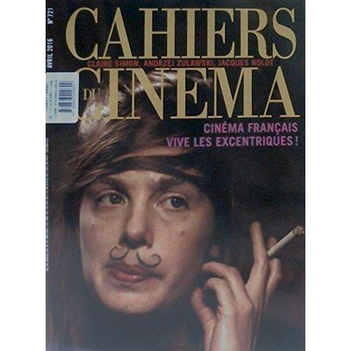 CAHIERS DU CINEMA N 721 CINEMA FRANCAIS AVRIL 2016