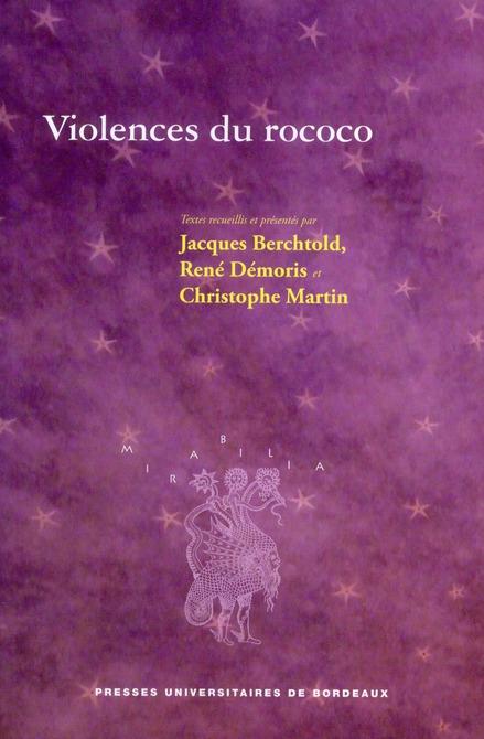 VIOLENCES DU ROCOCO
