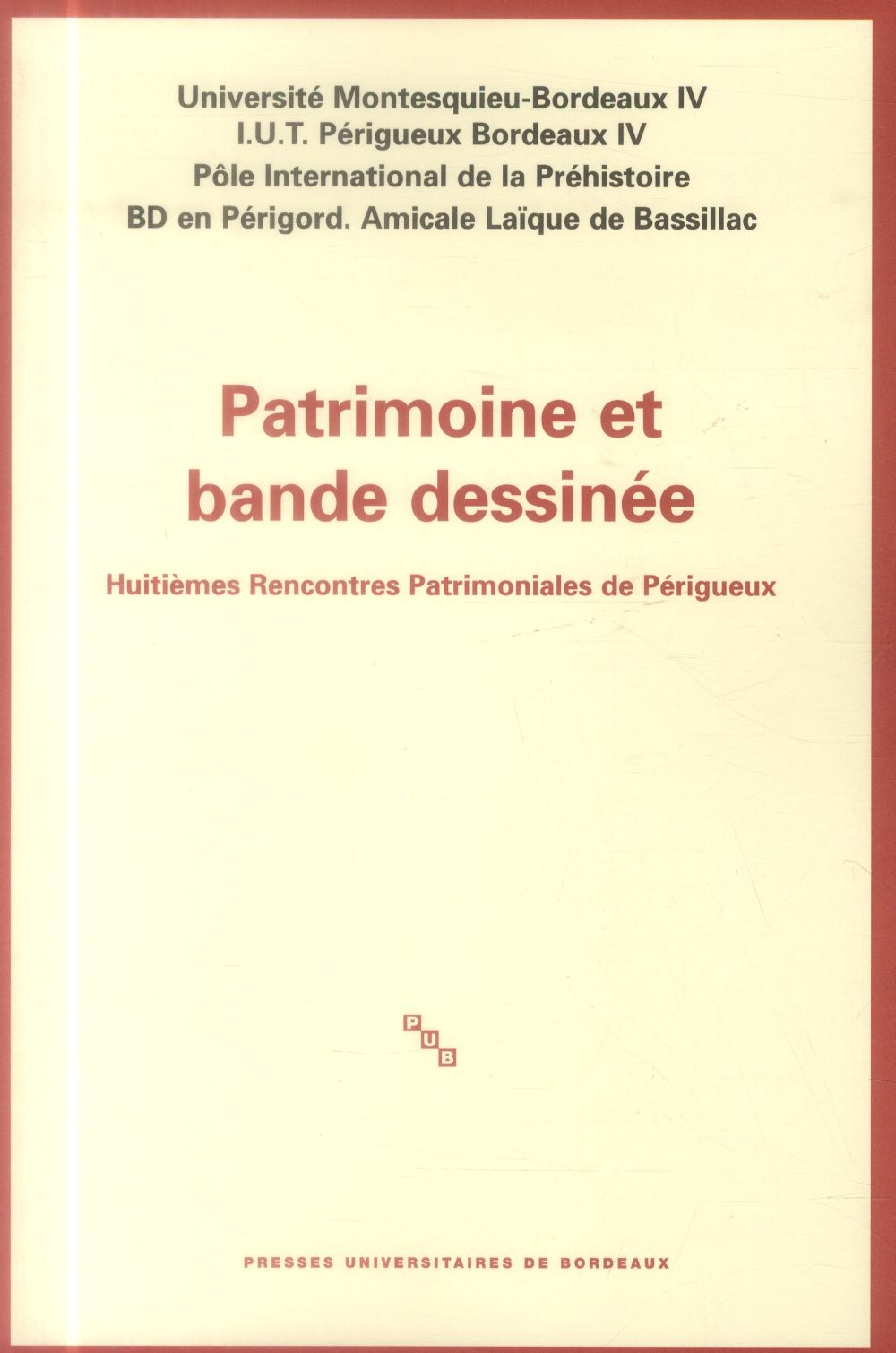 PATRIMOINE ET BANDE DESSINEE