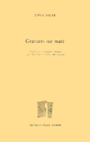 GRAVURES SUR MATE