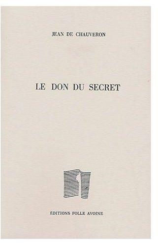 LE DON DU SECRET