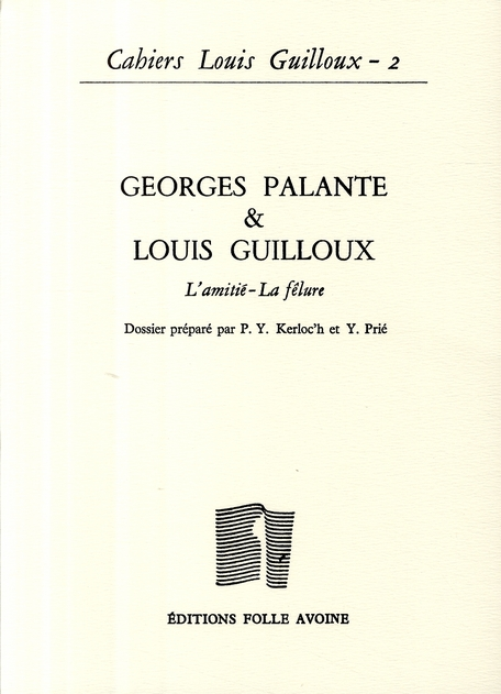 CAHIERS LOUIS GUILLOUX N2