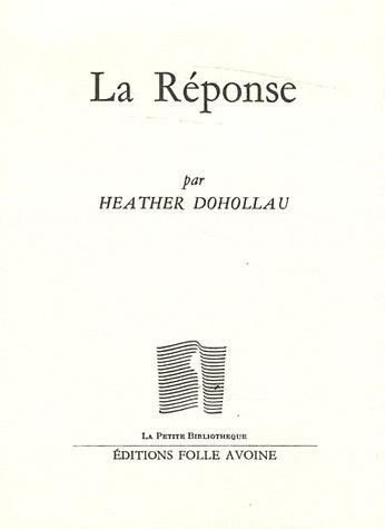REPONSE (LA)