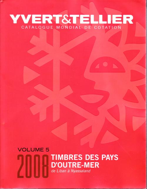 TIMBRES DES PAYS D OUTRE-MER VOLUME 5 LIBAN A NYASSALAND
