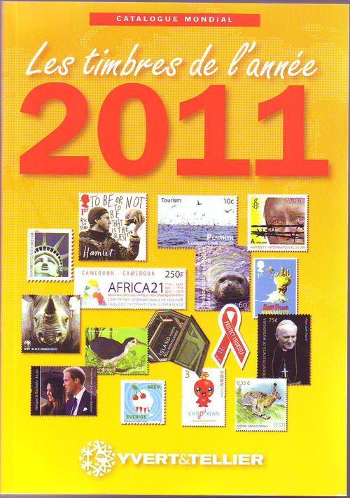 CATALOGUE MONDIAL DES TIMBRES DE L ANNEE 2011