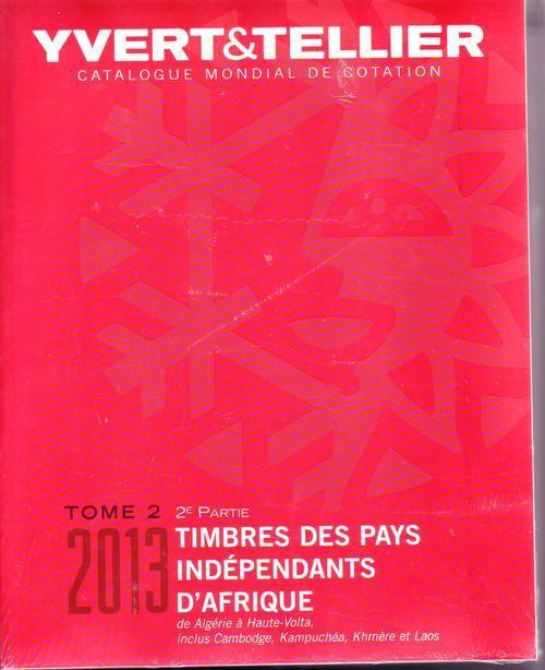 TOME II 2EME PARTIE 2013 PAYS INDEPENDANTS D'AFRIQUE DE ALGERIE A LAOS