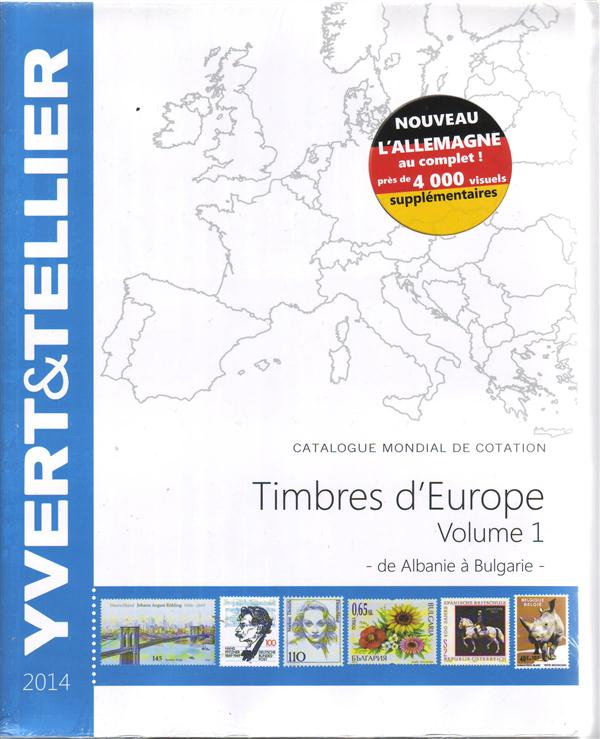 TOME GRANDE EUROPE VOL 1 A A BULGARIE 2014