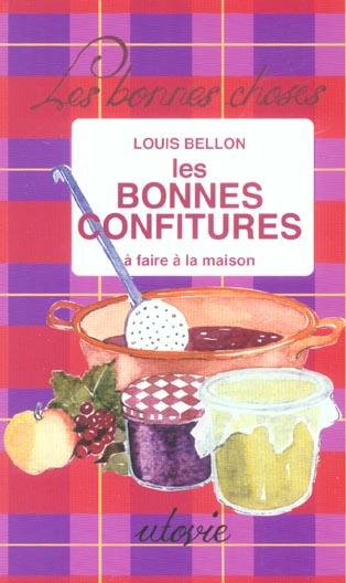 LES BONNES CONFITURES A FAIRE A LA MAISON