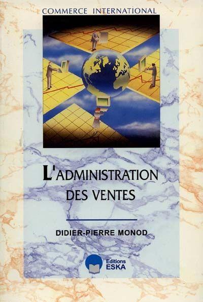L'ADMINISTRATION DES VENTES