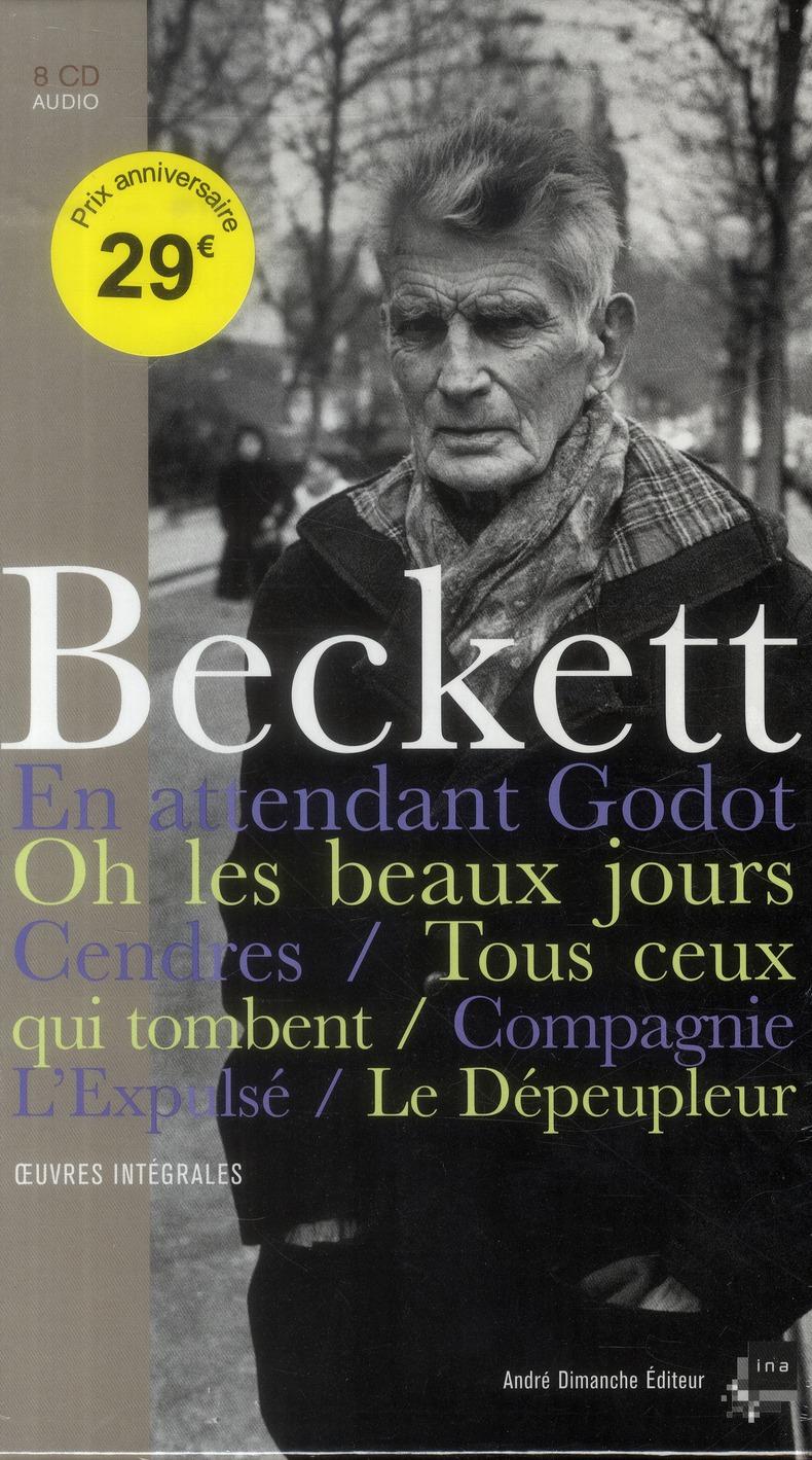 SAMUEL BECKETT - 8 CD + LIVRE