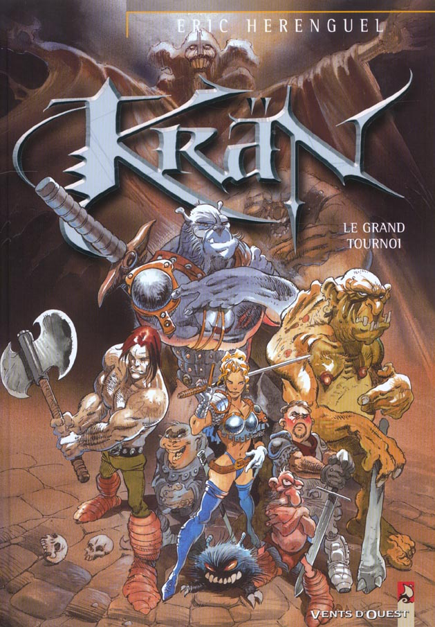 KRAN LE BARBARE - TOME 04 - LE GRAND TOURNOI