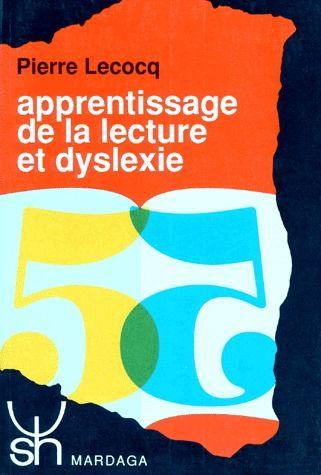 APPRENTISSAGE DE LA LECTURE ET DYSLEXIE 190