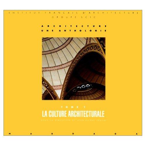 CULTURE ARCHITECTURALE T1 (LA)