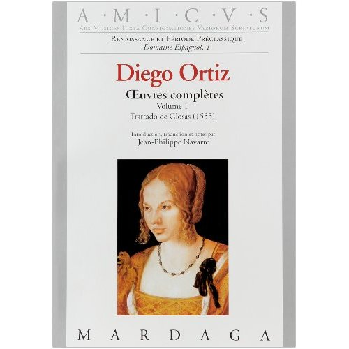 DIEGO ORTIZ - OEUVRES COMPLETES VOLUME 1