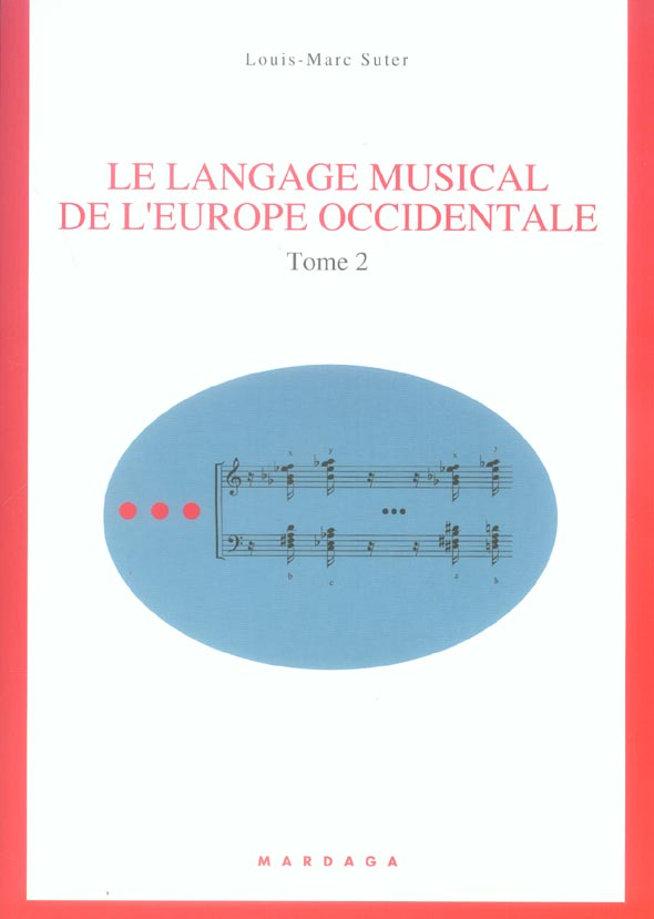 LANGAGE MUSICAL DE L'EUROPE OCCIDENTALE T2