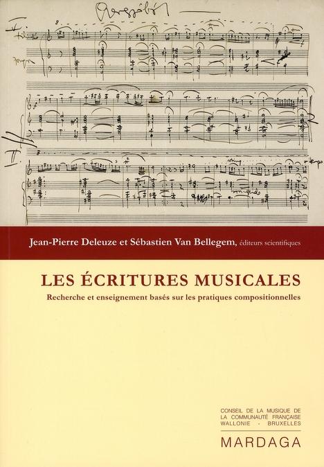 ECRITURES MUSICALES