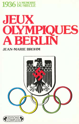 1936  JEUX OLYMPIQUES A BERLIN