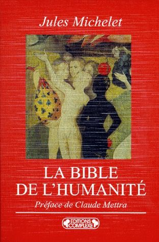 BIBLE DE L HUMANITE