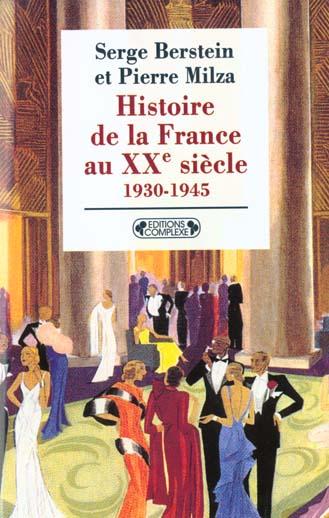 HISTOIRE DE LA FRANCE XXEME SIECLE T2