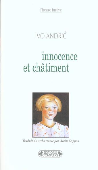 INNOCENCE ET CHATIMENT