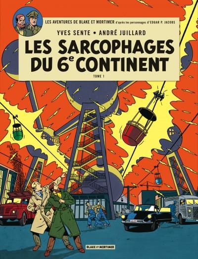 SARCOPHAGES DU 6E CONTINENT T1