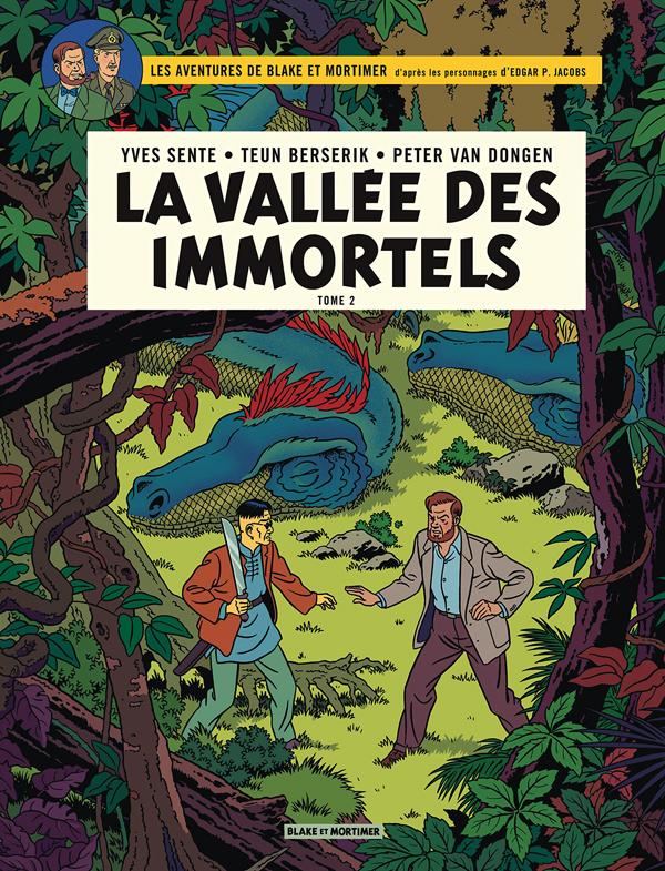 BLAKE ET MORTIMER - BLAKE & MORTIMER - TOME 26 - VALLEE DES IMMORTELS (LA) - TOME 2 - MILLIEME BRAS