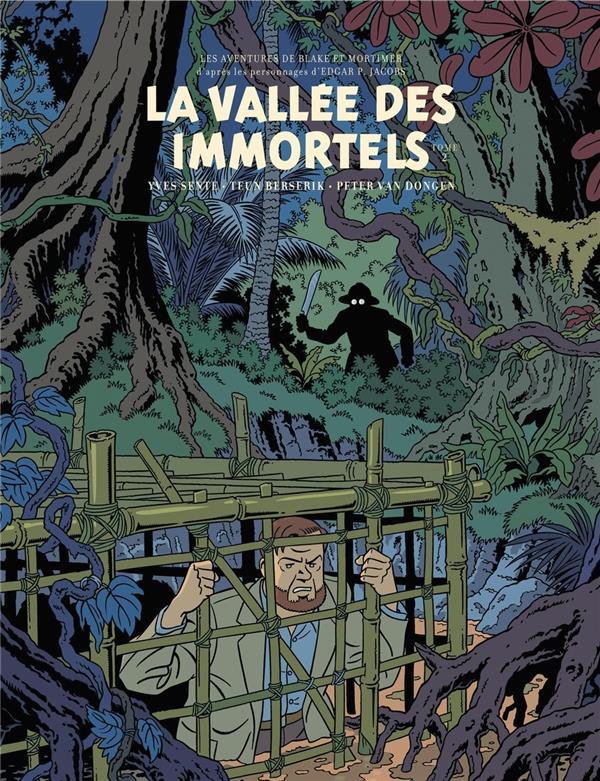 BLAKE ET MORTIMER - BLAKE & MORTIMER - TOME 26 - VALLEE DES IMMORTELS (LA) - TOME 2 - EDITION BIBLIO