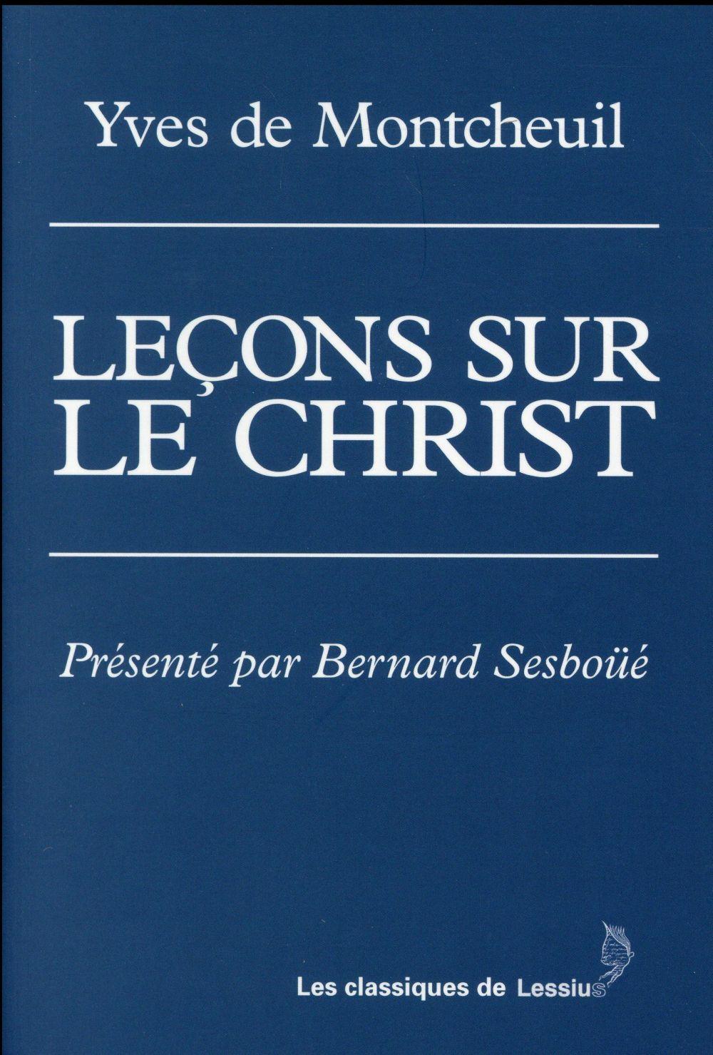 LECONS SUR LE CHRIST