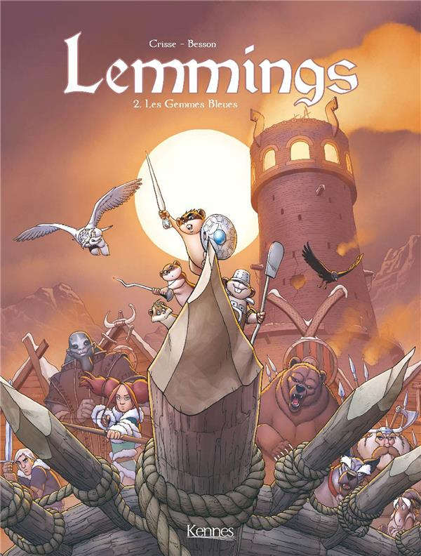 LEMMINGS T02 - LES GEMMES BLEUES